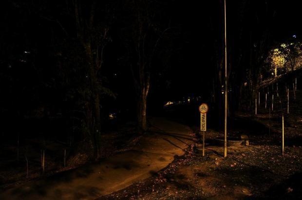 Compra de material para conserto da iluminação do Parque dos Macaquinhos, em Caxias, está prevista para a próxima semana Porthus Junior/Agencia RBS