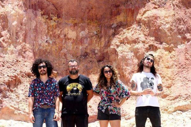 Banda potiguar Camarones Orquestra Guitarrística será atração em Caxias no domingo Mylena Sousa/Divulgação