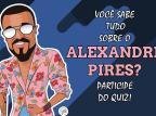 Teste seus conhecimentos sobre a carreira e a história de Alexandre Pires Luan Zucci / Agência RBS/Agência RBS