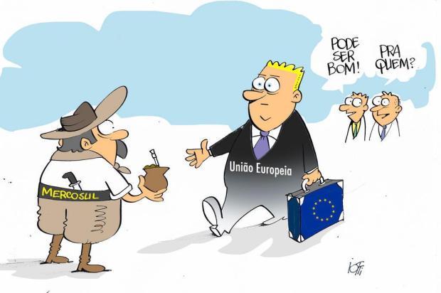 Iotti: União Europeia e Mercosul fecham acordo de livre comércio Iotti/Iotti