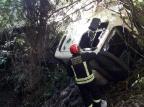 Mulher é atropelada por caminhão que saiu da pista na BR-470 Marco Mendonça/Divulgação