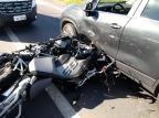 Motociclista fica ferido em acidente na RCS-453, em Caxias GRV de Farroupilha/Divulgação