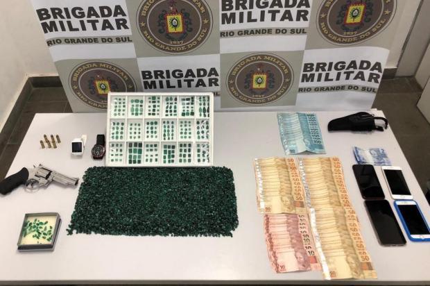 Apreensão de pedras preciosas é rara e intriga policiais de Caxias do Sul Brigada Militar/Divulgação