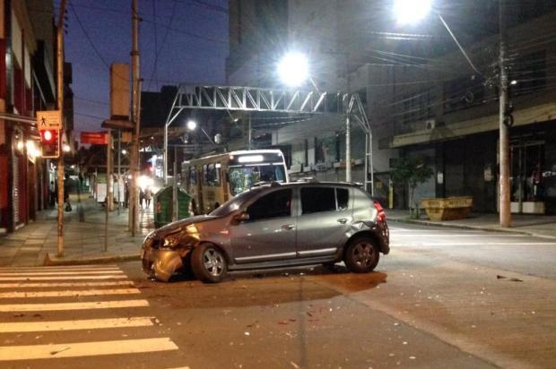 Acidente deixa um ferido no centro de Caxias do Sul André Fiedler/Agência RBS