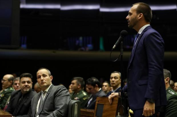Presidente Bolsonaro faz defesa do presente para seu filho Marcos Corrêa/Divulgação