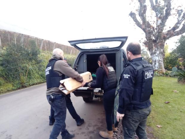 Polícia Civil deflagra operação contra crimes rurais em Caxias do Sul Aline Ecker / agência RBS/agência RBS