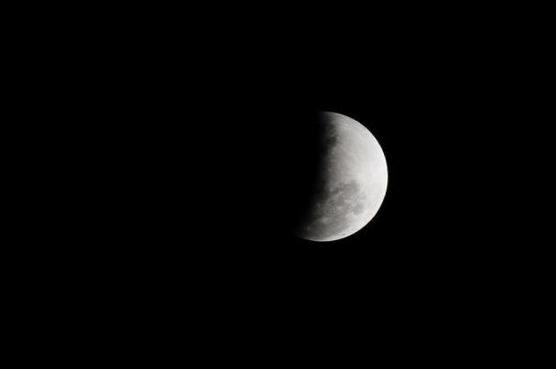 Clima ajudou e moradores da Serra também conseguiram ver o eclipse Porthus Junior/Agencia RBS