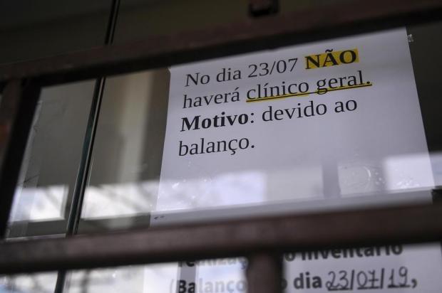 Faltam médicos em quase metade dos postos de saúde de Caxias do Sul Marcelo Casagrande/Agencia RBS