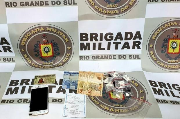 Motorista de aplicativo é preso depois de transportar e entregar drogas em Farroupilha Brigada Militar/Divulgação