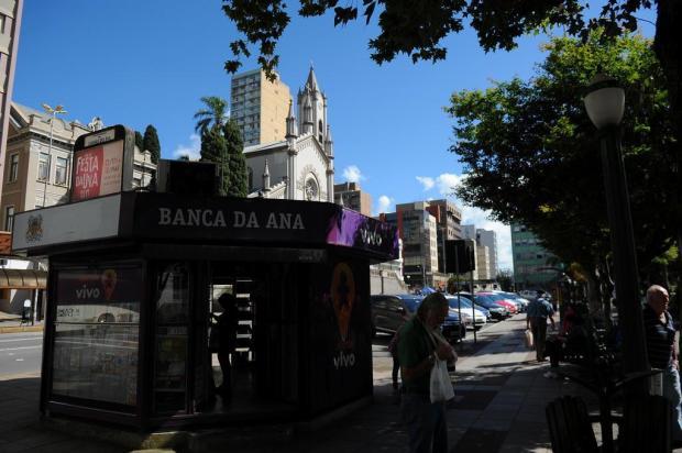 Após sentença judicial, proprietários deverão desocupar as bancas de revista em Caxias do Sul Felipe Nyland/Agencia RBS