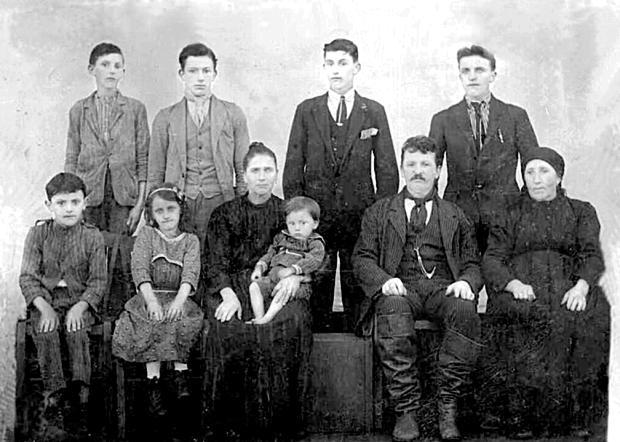 Família de Bôrtolo Chies e Giulia Zanella Acervo de família / divulgação/divulgação