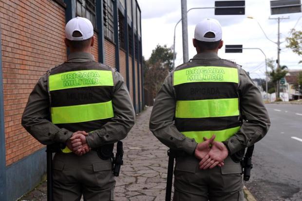 Distribuição de novos soldados fará com que 15 cidades da Serra passem a ter cinco policiais militares Antonio Valiente/Agencia RBS