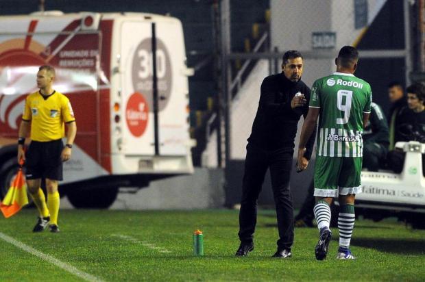 Marquinhos diz que vitória no Acre é compromisso do time após empate do Ju em casa Marcelo Casagrande/Agencia RBS