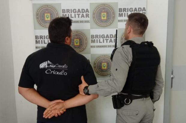 Homem ameaça esposa e é preso por posse ilegal de arma no interior de Caxias Brigada Militar/Divulgação