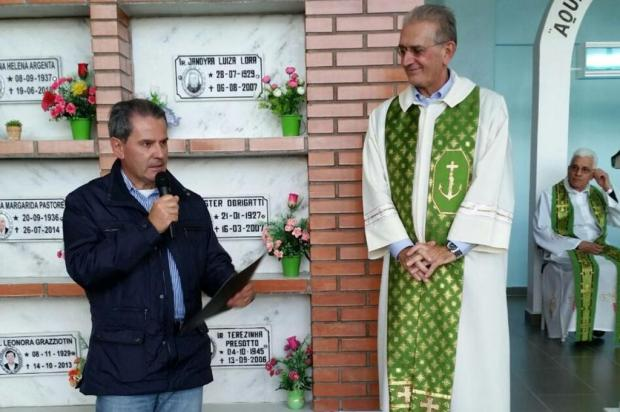 Ex-prefeito de Caxias também esteve em missa para ato político Alexandra Baldisserotto/Divulgação