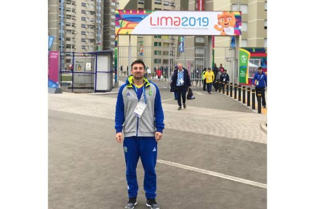 Fisioterapeuta caxiense participa dos Jogos Pan-Americanos no Peru CBV / Divulgação/Divulgação