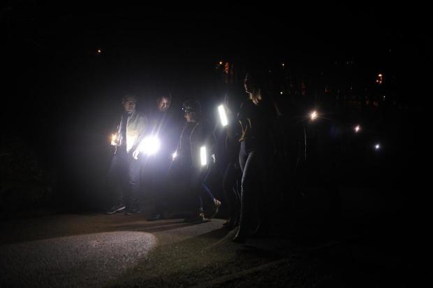 Falta de iluminação inibe ocupação de espaços públicos e motiva mobilização em Caxias Marcelo Casagrande/Agencia RBS