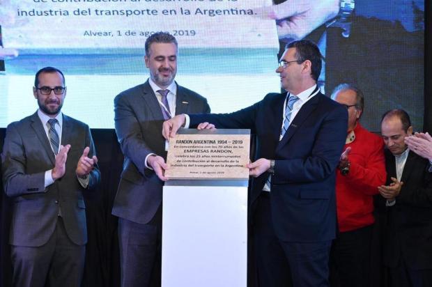 Randon, de Caxias, comemora 25 anos da fábrica na Argentina Franco Ferpozzi/Divulgação