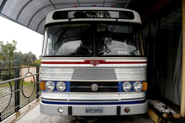 Ônibus Nicola é patrimônio histórico da Marcopolo Lucas Amorelli/Agencia RBS