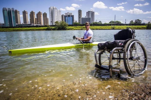 Atleta paraolímpico Fernando Fernandes participa de bate-papo em Caxias Fabio Piva/Red Bull Content Pool