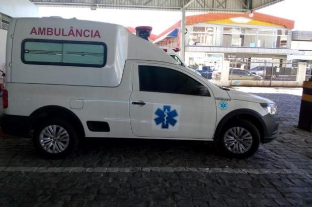 Grupo de Resgate Voluntário de Farroupilha busca doações para comprar nova ambulância Divulgação/Secretaria de Saúde de Farroupilha