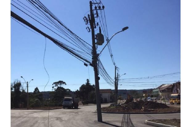 Poste na ERS-235, em Nova Petrópolis, será deslocado no domingo Divulgação/