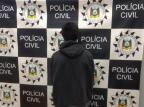 Foragido suspeito de roubo à residência é detido e indiciado em Vacaria Divulgação/Polícia Civil