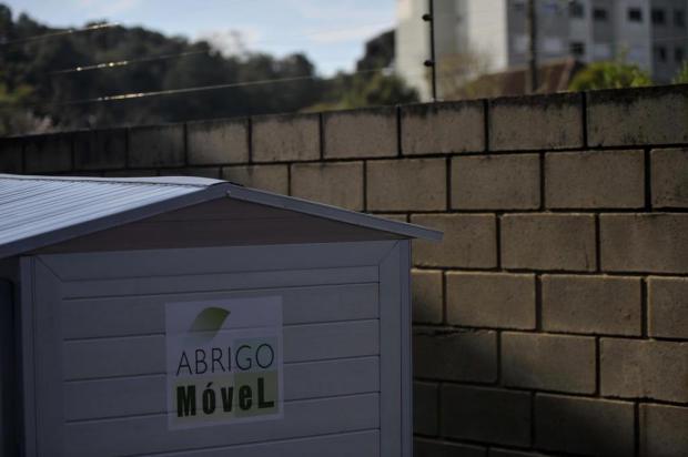 Em Caxias do Sul, projeto quer disponibilizar abrigos móveis a pessoas em situação de rua Lucas Amorelli/Agencia RBS