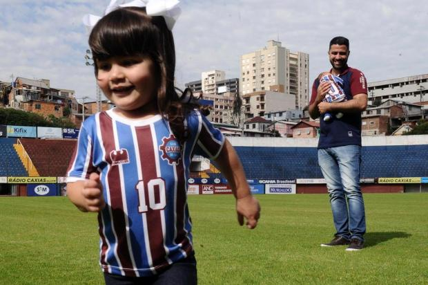 Os maiores amores do comandante grená: o dia dos pais especial de Lacerda Antonio Valiente/Agencia RBS