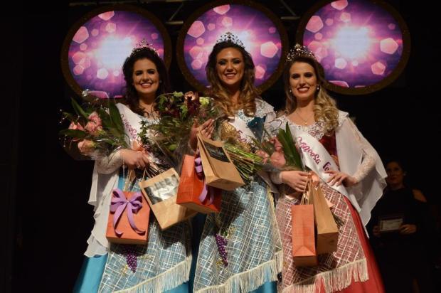 Trio de soberanas da Fenavindima 2020 é eleito em Flores da Cunha Évila Vanessa Vicente/divulgação