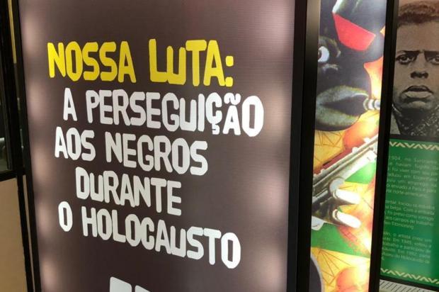 Exposição em Caxias aborda perseguição aos negros durante a Segunda Guerra Mundial Museu do Holocausto de Curitiba/Divulgação