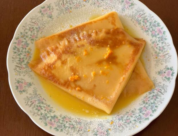 Na Cozinha: aprenda a fazer o clássico crepe suzette Destemperados/