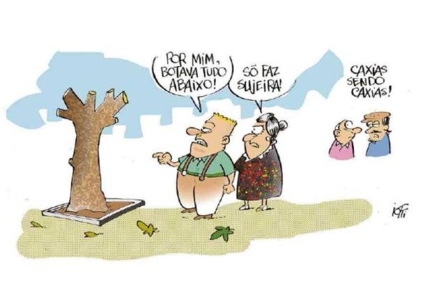 Iotti: os caxienses e as árvores Iotti / Agência RBS/Agência RBS
