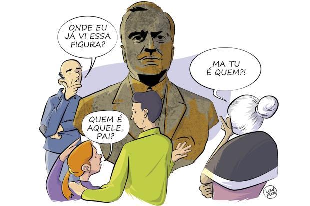 História de busto apreendido com homem em Caxias do Sul é cheia de mistérios Luan Zuchi / Agência RBS/Agência RBS