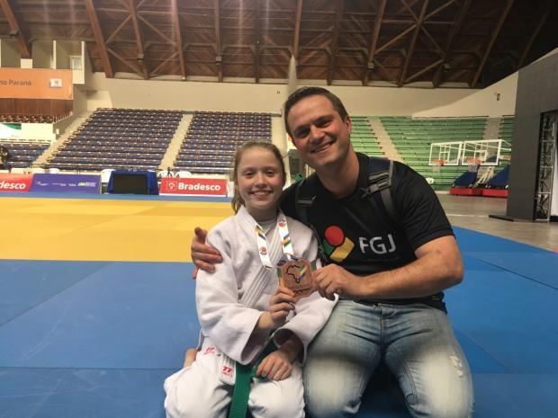 Judoca caxiense leva o bronze em campeonato brasileiro sub-13 Arquivo pessoal/