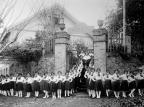Galópolis e o Colégio Dona Manoela Chaves em 1934 Sisto Muner / Acervo de família, divulgação/Acervo de família, divulgação