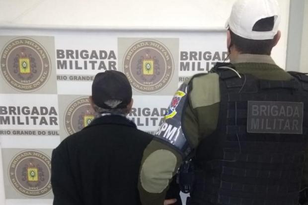 Após se envolver em briga com vizinho, idoso é detido com arma em Caxias Brigada Militar/Divulgação