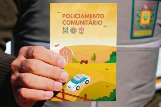 Com apoio da comunidade, Brigada Militar lança cartilha de segurança em Farroupilha Brigada Militar / Divulgação/Divulgação