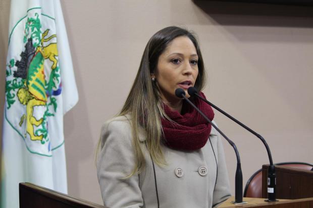 Na Câmara, secretária volta a defender Caxias na Região das Hortênsias Gabriela Bento Alves / Câmara de Vereadores/Câmara de Vereadores