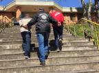 Suspeitos de assassinato a jovem de 18 anos, adolescentes se apresentam na delegacia de Vacaria Polícia Civil / Divulgação/Divulgação