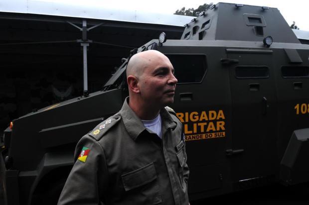 Comandante em Bento Gonçalves assumirá novo Batalhão de Choque na Serra Antonio Valiente/Agencia RBS