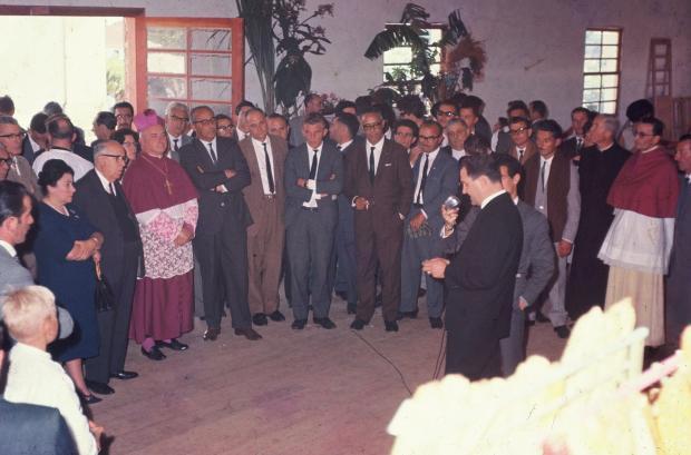 Santa Lúcia do Piaí e a exposição de produtos agrícolas de 1965 Hildo Boff, Optica Caxiense / Acervo de família, divulgação/Acervo de família, divulgação