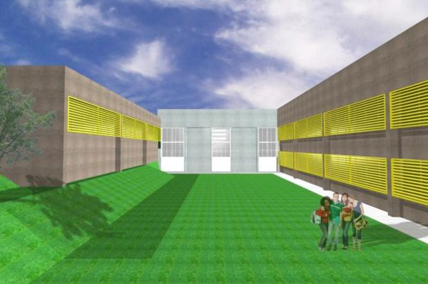 Construção de escola no Campos da Serra, em Caxias, tem duas propostas classificadas em licitação Seplan/Divulgação