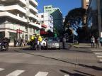 Acidente na área central de Caxias deixa o trânsito lento Cláudia Alessi / Agência RBS/Agência RBS