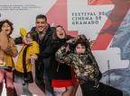 """Atores do filme """"Turma da Mônica - Laços"""" se divertem durante o Festival de Cinema de Gramado Cleiton Thiele / Agência PressPhoto, Divulgação/Agência PressPhoto, Divulgação"""