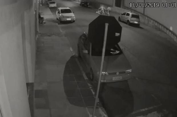VÍDEO: Polícia divulga imagens da briga que resultou em morte na frente de bar em Vacaria Polícia Civil / Reprodução/Reprodução