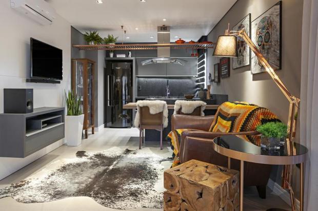 Casa & Cia: cobertura com pitadas de décor industrial valoriza estilo de vida do proprietário Guilherme Jordani/Divulgação