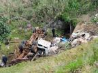 Remoção de caminhão que tombou comanimais na RS-122 na Serra ocorre neste sábado  Porthus Junior/Agencia RBS