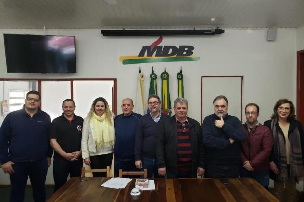 MDB elege Ari Dallegrave presidente do partido em Caxias Luiz Chaves/Divulgação
