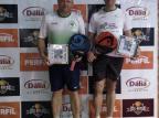 Duplas caxienses vencem torneio de pádel e se classificam para torneio na Europa Arquivo Pessoal/